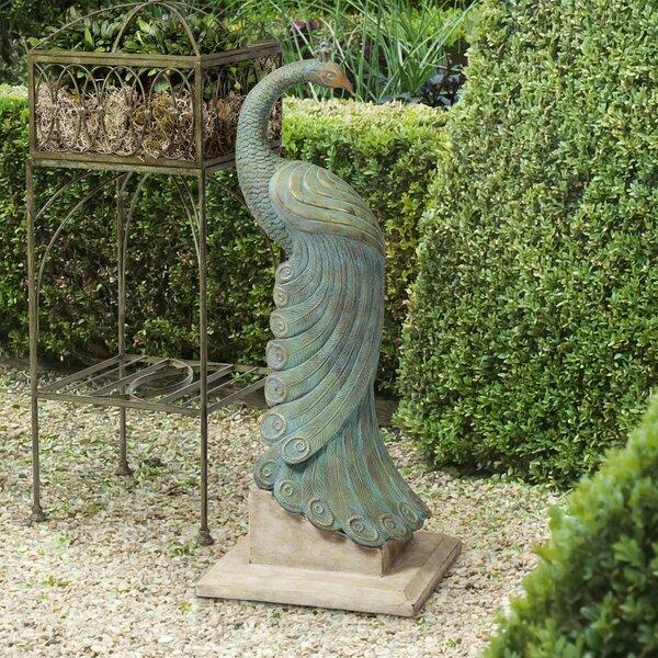 Outdoor Peacock Statues | Wayfair