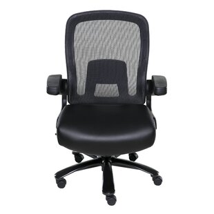 Symple Stuff High-Back Mesh Executive Chair with Pocket Coil Seat Cushioning