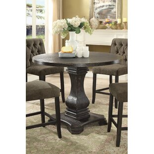 Ophelia & Co. Kulik Solid Wood Dining Table