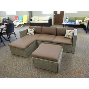 Zeba Patio Sectional Piece with Cushions