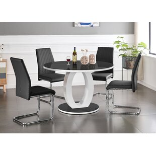 Turkol Dining Set With 6 Chairs By Ebern Designs