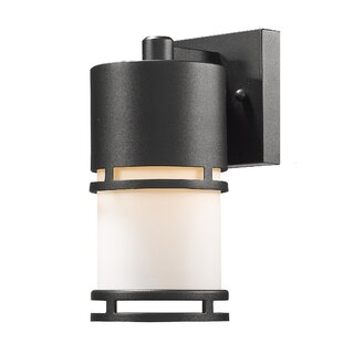 Feder 1-Light Outdoor Sconce By Ivy Bronx Outdoor Lighting