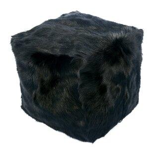 Beringer Fur Pouf by Brayden Studio