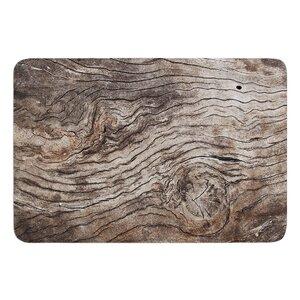 Tree Bark by Susan Sanders Bath Mat