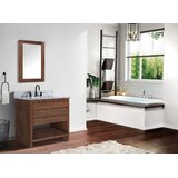 Doughty 31 Wall-Mounted Single Bathroom Vanity Set with Mirror by Birch Lane