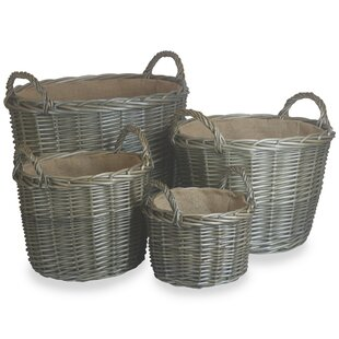 Shamberg 4 Piece Log Carrier By Brambly Cottage