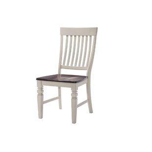 Adalgar Slat Back Wood Dining Chair August Grove