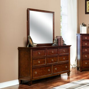 Jarvis 8 Drawer Dresser with Mirror