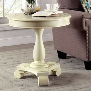 Lippa Transitional Round End Table
