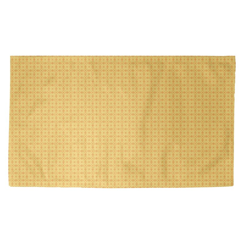 Latitude Run Avicia Doily Yellow Area Rug Wayfair