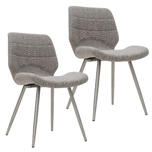 Aghanliss Upholstered Dining Chair (Set of 2) Orren Ellis