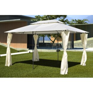 13 Ft. W x 10 Ft. D Metal Gazebo by Freeport Park