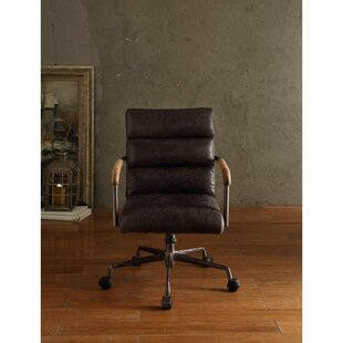 Budget Dandor Genuine Leather Conference Chair by Red Barrel Studio Reviews (2019) & Buyer's Guide