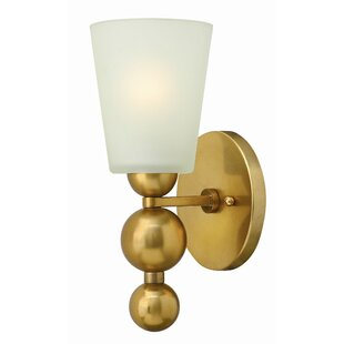 Top Reviews Shaw 1-Light Wall Sconce By Willa Arlo Interiors