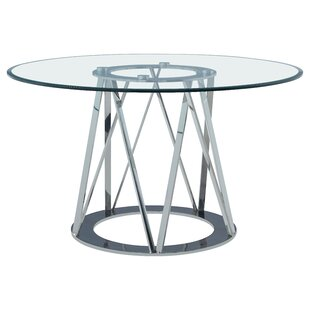 Orren Ellis Mayall Round Metal Dining Table