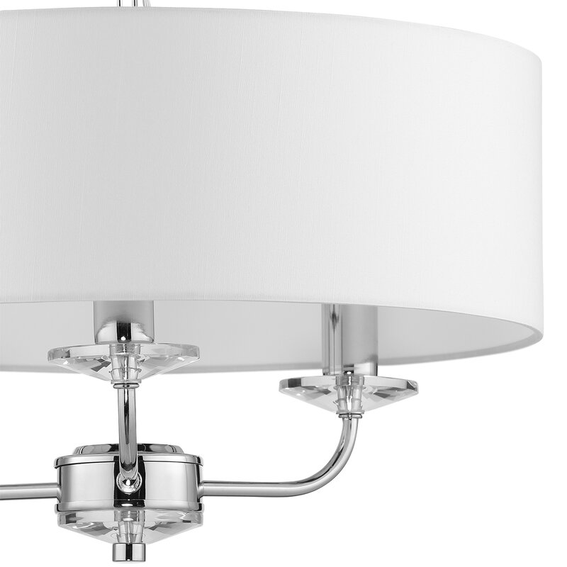 Basilia 3 Light Drum Chandelier