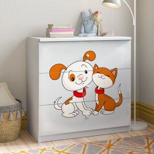 Caswell 3 Drawer Dresser By Zipcode Design