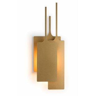 Corrigan Studio Cotter 1-Light Flush Mount
