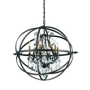 Caseareo 6-Light Chandelier by One Allium Way