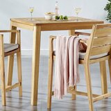 Evelin 3 Piece Dining Set with Cushions