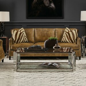 Allegra Metal Coffee Table by Bernhardt
