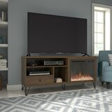 Forest Park TV Stand for TVs up to 65 with Electric Fireplace Included by Zipcode Design™