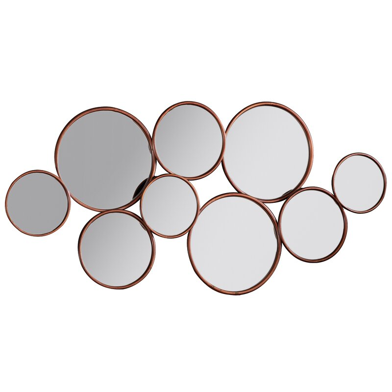 8f2f29e452d0 Canora Grey 9 Piece Antony Accent Mirror Set & Reviews | Wayfair.co.uk