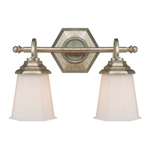 Price comparison Santillan 2-Light Vanity Light By Alcott Hill
