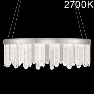 Fine Art Lamps Lior Rock 24-Light Drum Ch..