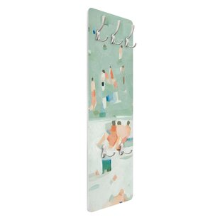 Summer Confetti I Wall Mounted Coat Rack By Symple Stuff