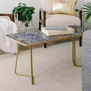 Schatzi Kahala Flower Chambray Coffee Table