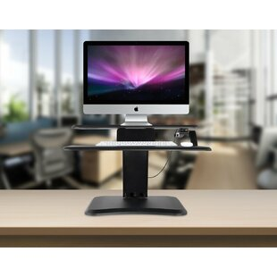 Indie Standing Desk Converter by Symple Stuff Fresh
