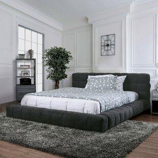 Eady Tufted Upholstered Platform Bed by Brayden Studio