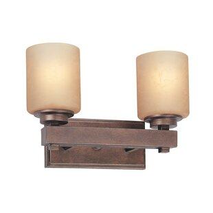 Sherwood 2-Light Vanity Light by Dolan Designs