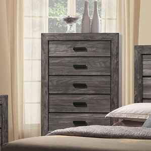 Raven 5 Drawer Chest by Union Rustic