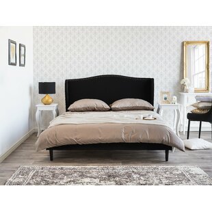 Frieda Upholstered Bed Frame By Ophelia & Co.