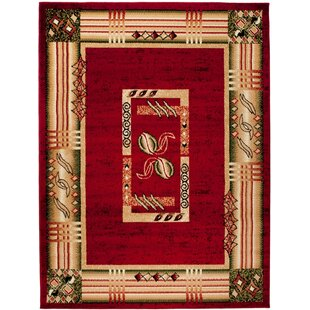 Halite Red Area Rug