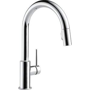 """Trinsic® Kitchen 15"""" Single Handle Pull Down Standard Kitchen Faucet"""