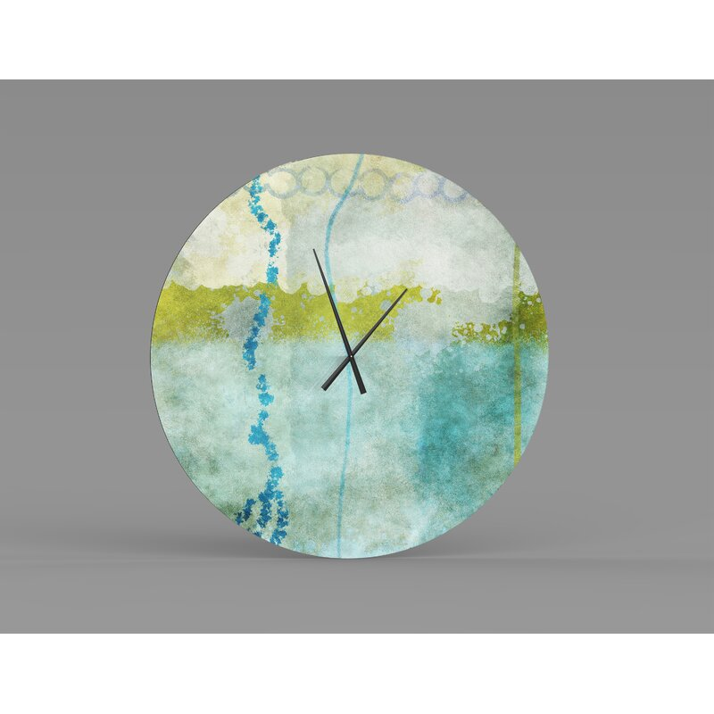 Orren Ellis Oversized Roo Wall Clock Wayfair