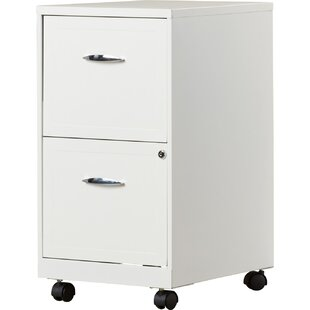 Gigi 2 Drawer Mobile File Cabinet