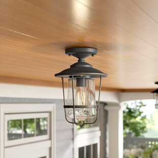 Remington Outdoor Lighting Semi Flush Mount
