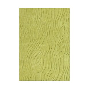 Hand Tufted Lime Green Area Rug