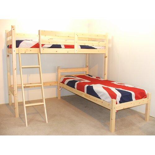 Croydon L-Shaped Bunk Bed