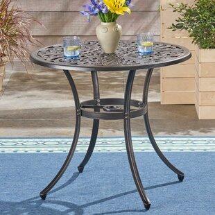 Stoner Metal Dining Table by Fleur De Lis..