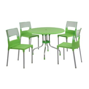 Sletten 5 Piece Dining Set by Brayden Stu..