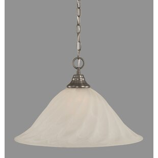 Red Barrel Studio Caillo 1-Light Bowl Pendant