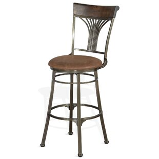 Pompen 30 Swivel Bar Stool Loon Peak