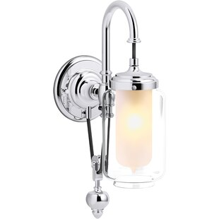 Artifacts Single Wall Sconce with Adjustable Cord by Kohler