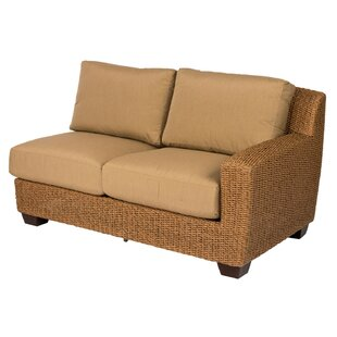 Saddleback Right Arm Loveseat with Cushions