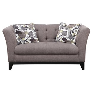 Woolfolk Chesterfield Loveseat